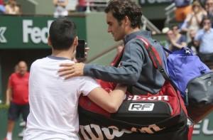Roger Federer cool