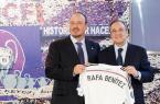 Rafa Benitez et Florentino Pérez  au Real Madrid