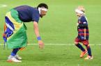 neymar et davi lucca