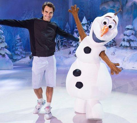 nouveau copain de Roger Federer à Disneyland
