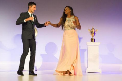 danse de Serena Williams avec Novak Djokovic