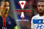 chaines TV PSG OL Trophée des Champions 2015