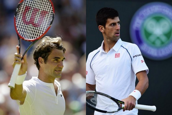 Djokovic Federer streaming wimbledon 2015