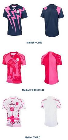 maillots du Stade Français 2015-2016