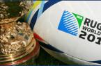 Coupe du Monde Rugby 2015 ballon trophée