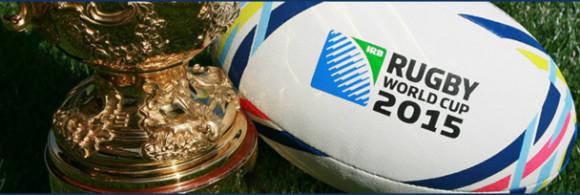 Billet Coupe du Monde Rugby 2015 ballon trophée