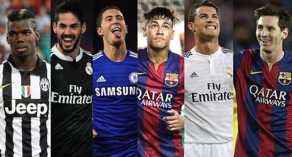 Top 10 meilleurs joueurs de foot du monde