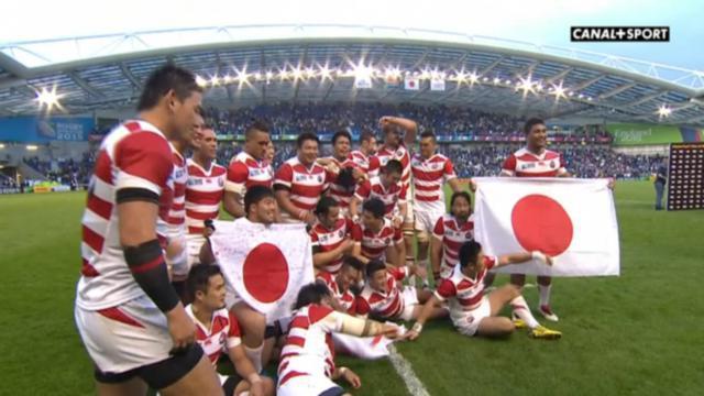 Cdm 2015 rugby r sum du match japon afrique du sud - Classement coupe du monde de rugby ...