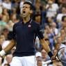 rage de vaincre de Novak Djokovic US Open
