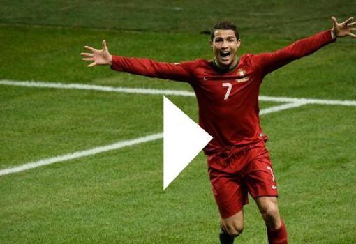 vidéo des buts matches Portugal Albanie
