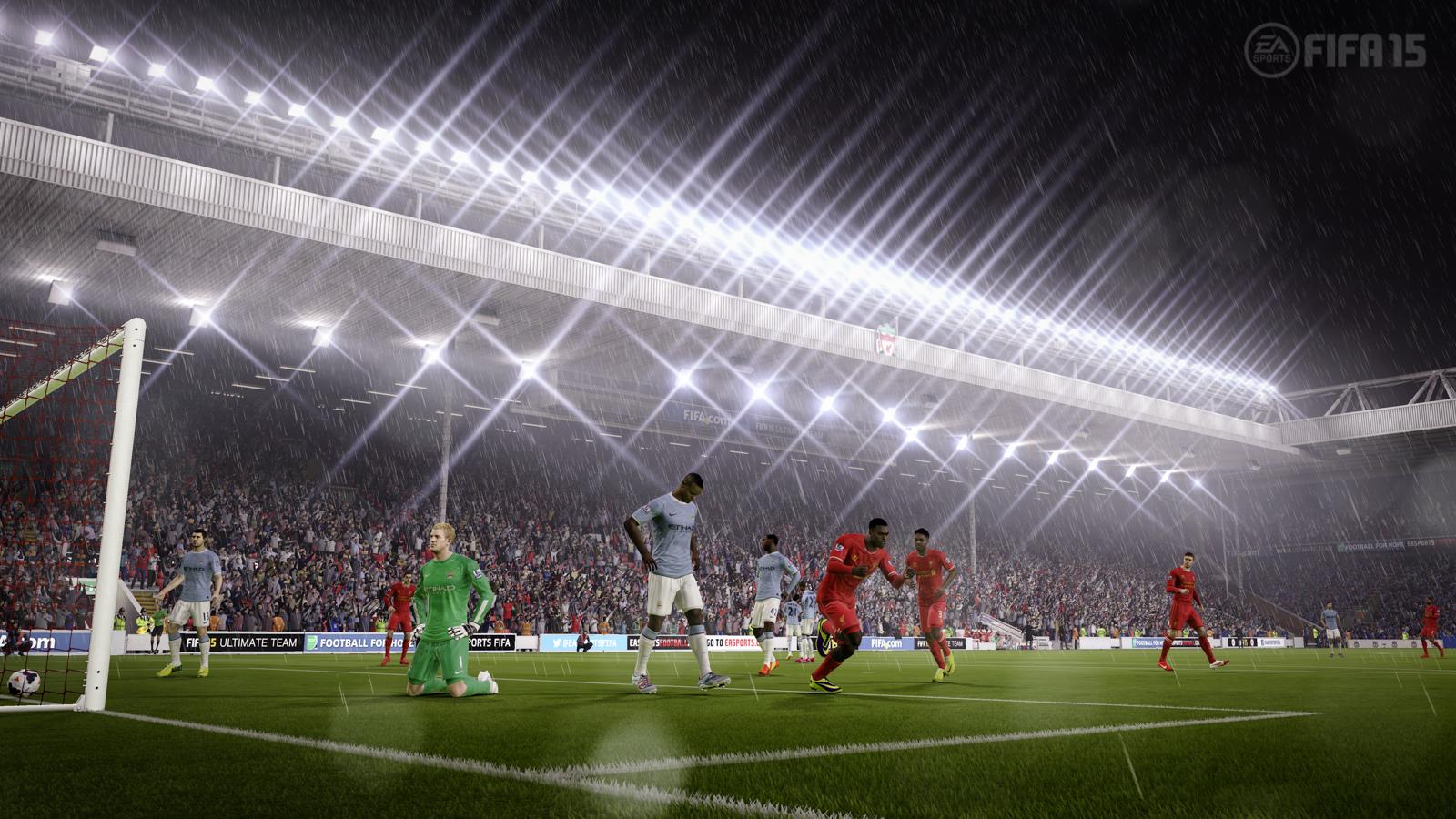 FIFA 15 plus beaux matches jeux vidéo fond d'écran