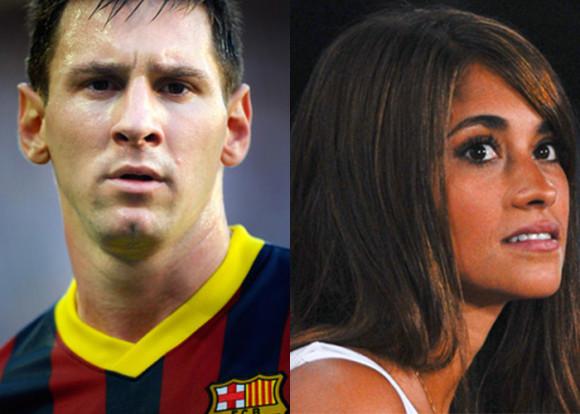 Vidéo bisous Lionel Messi and Antonella Roccuzzo