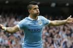 Vidéo quintuplé d'Aguëro quintuplé Manchester C.  Newcastle