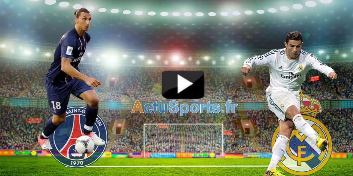 vidéo PSG Real MAdrid 21 octobre 2015 Ligue des Champions