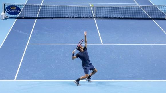vidéo résumé Federer Kukushkin swiss indoors 2015