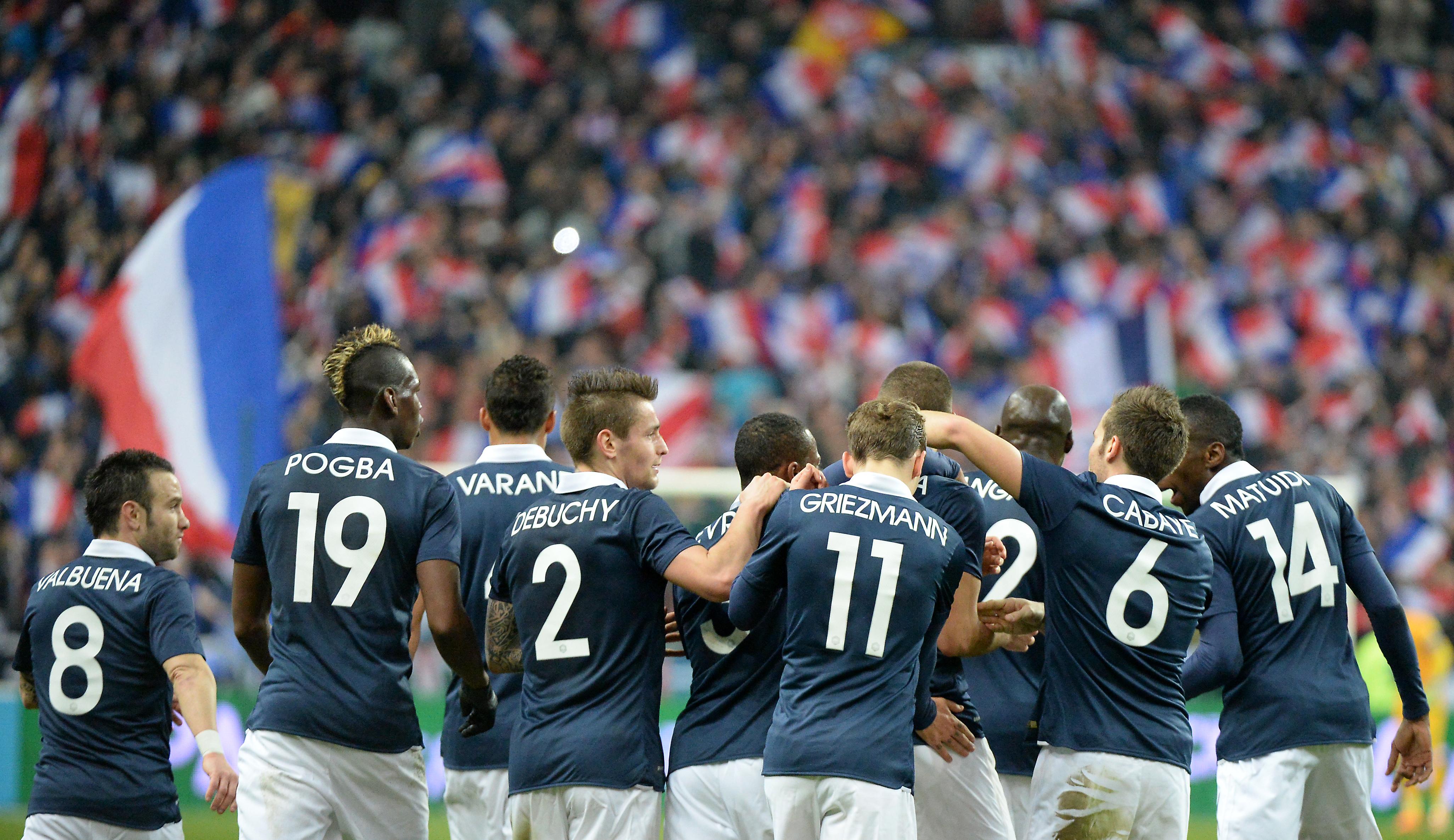 France angleterre foot compositions officielles des quipes - Coupe d europe de foot 2016 ...