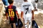 5 days left until #ElClasico!! #Messi #Ronaldo #TheBeautifulGame