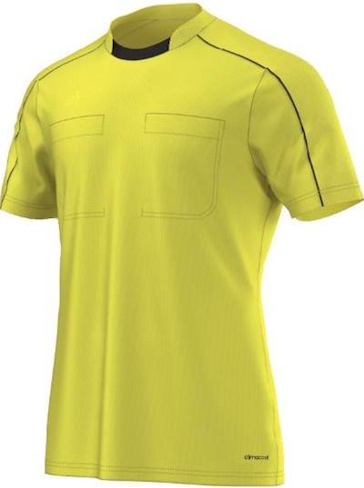 maillot arbitre Euro 2016 jaune