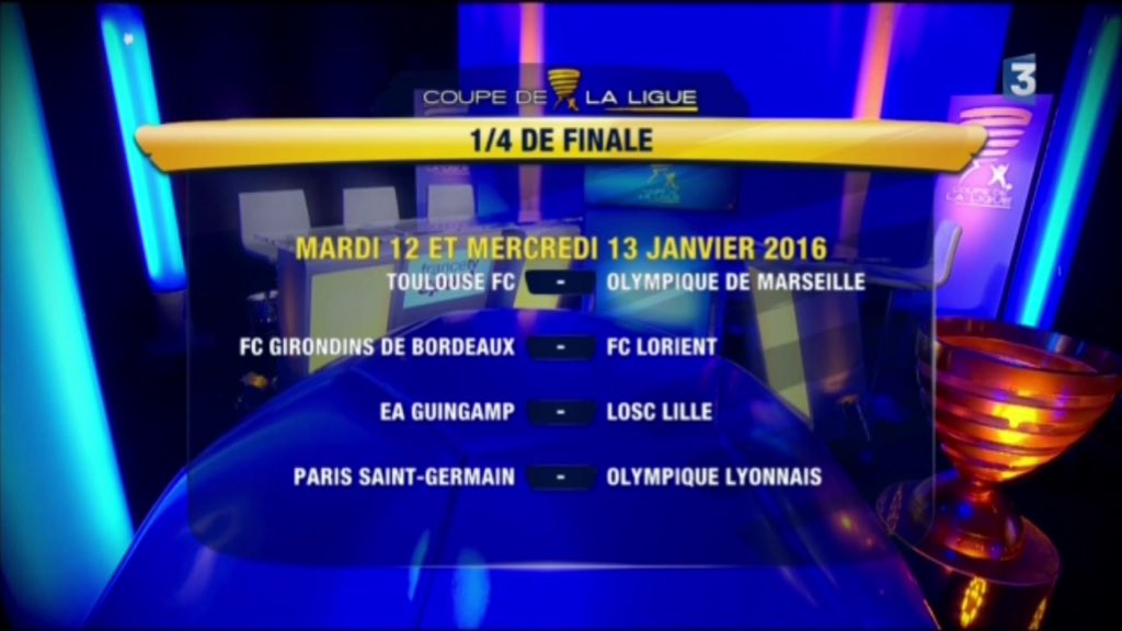 Tirage quart de finale coupe de la ligue 2016 - Tirage quart de finale coupe de france ...