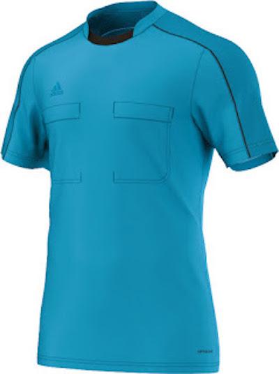 tenue arbitre EUro 2016 bleu