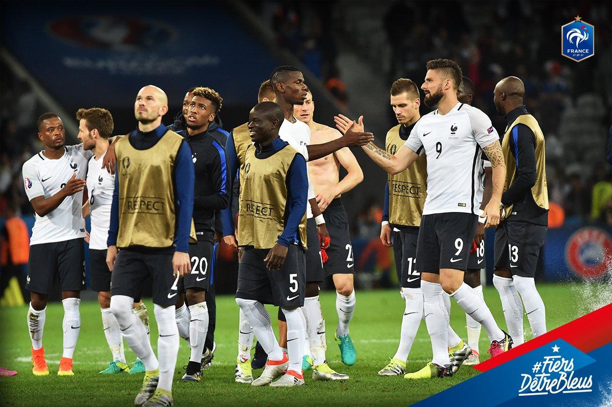 huitième de finale euro 2016 équipe de france